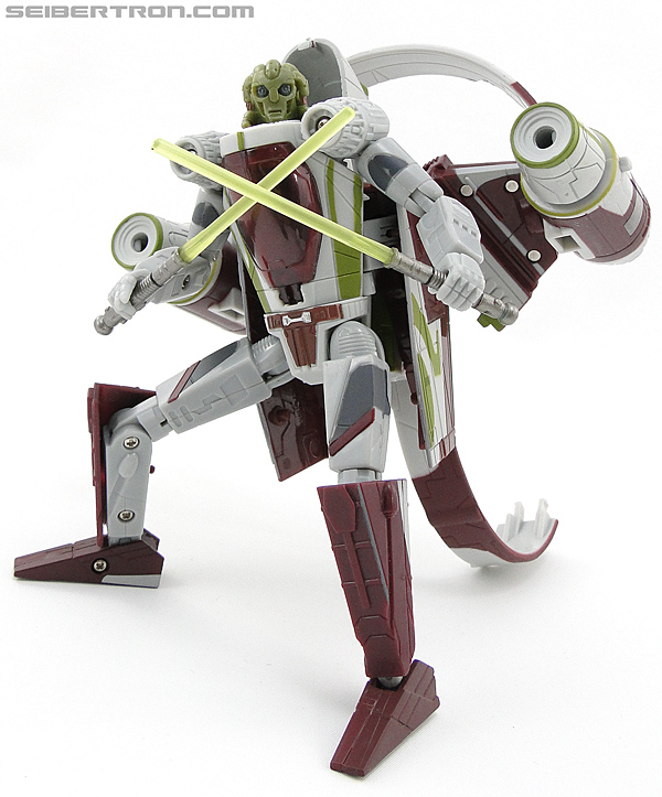 Star Wars Transformers Kit Fisto (Jedi Starfighter) (Image #78 of 104)