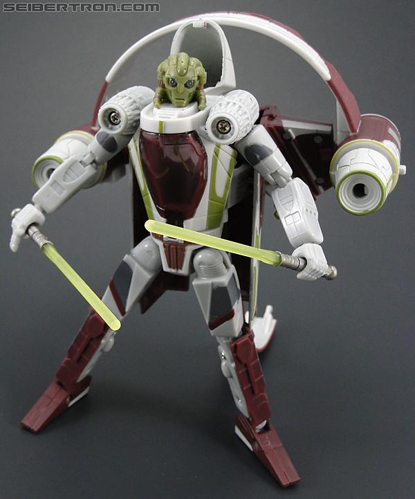 Star Wars Transformers Kit Fisto (Jedi Starfighter) (Image #91 of 104)