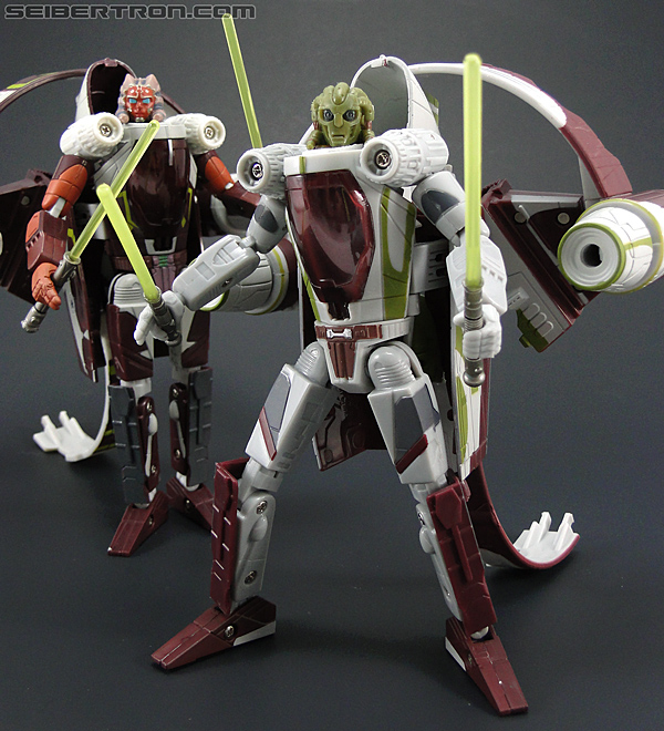 Star Wars Transformers Kit Fisto (Jedi Starfighter) (Image #97 of 104)