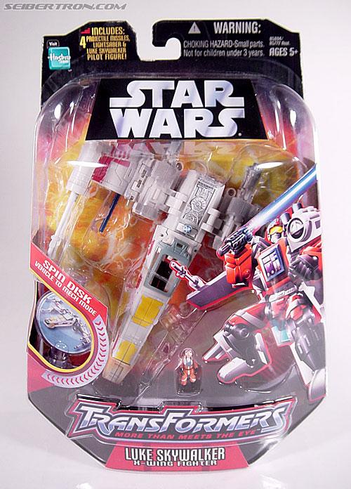 Star Wars Transformers Luke Skywalker (X-Wing Fighter) (Image #2 of 101)