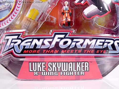 Star Wars Transformers Luke Skywalker (X-Wing Fighter) (Image #3 of 101)