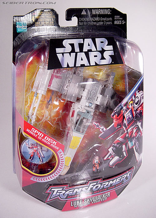 Star Wars Transformers Luke Skywalker (X-Wing Fighter) (Image #12 of 101)
