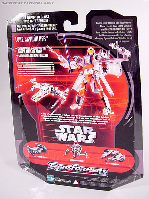 Star Wars Transformers Luke Skywalker (X-Wing Fighter) (Image #14 of 101)