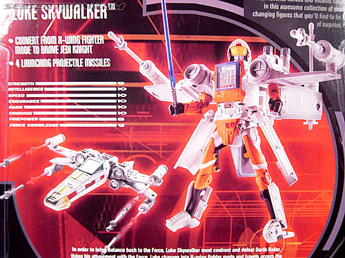 Star Wars Transformers Luke Skywalker (X-Wing Fighter) (Image #16 of 101)