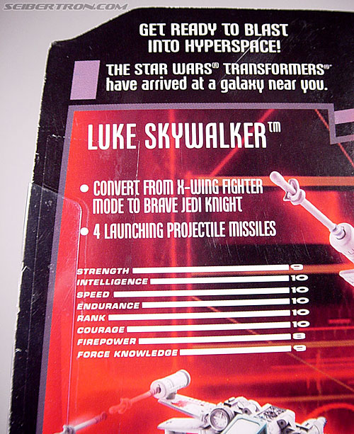 Star Wars Transformers Luke Skywalker (X-Wing Fighter) (Image #17 of 101)