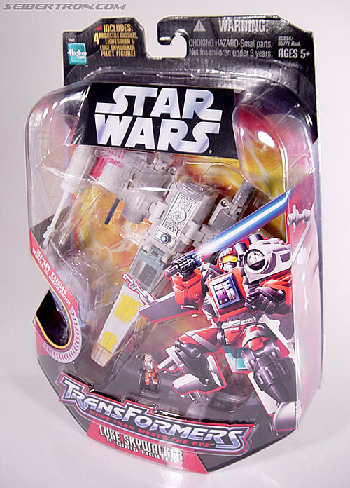 Star Wars Transformers Luke Skywalker (X-Wing Fighter) (Image #21 of 101)