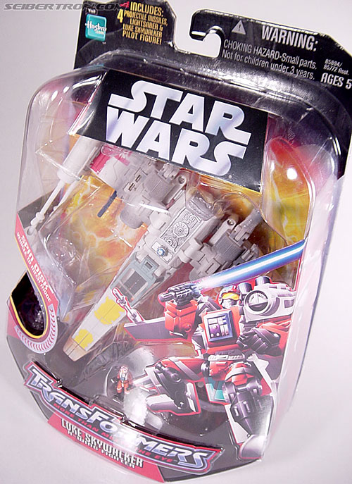 Star Wars Transformers Luke Skywalker (X-Wing Fighter) (Image #22 of 101)