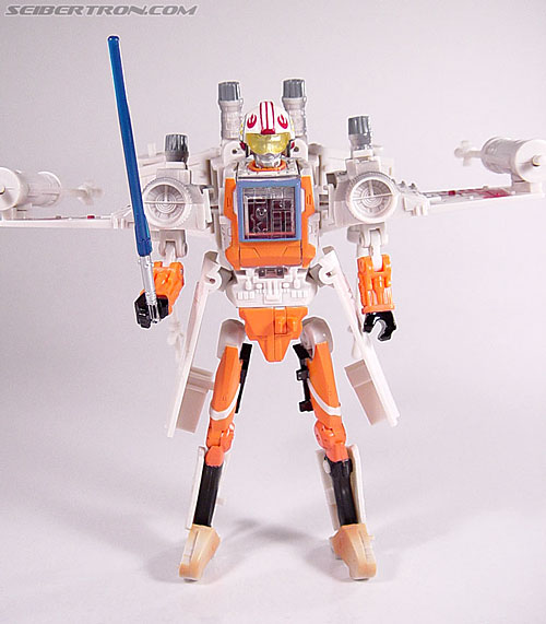 Star Wars Transformers Luke Skywalker (X-Wing Fighter) (Image #59 of 101)