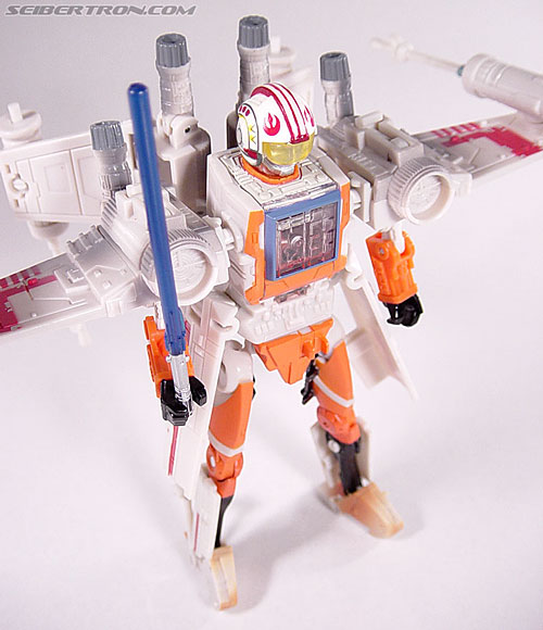 Star Wars Transformers Luke Skywalker (X-Wing Fighter) (Image #64 of 101)