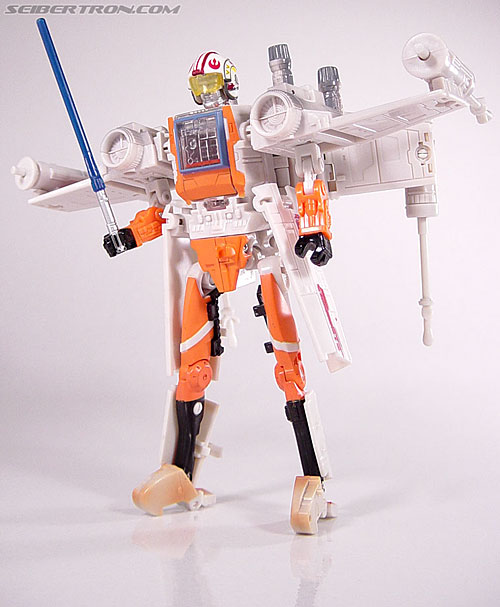 Star Wars Transformers Luke Skywalker (X-Wing Fighter) (Image #73 of 101)