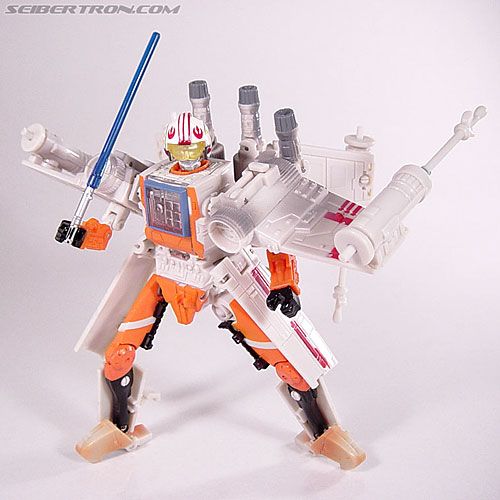 Star Wars Transformers Luke Skywalker (X-Wing Fighter) (Image #78 of 101)