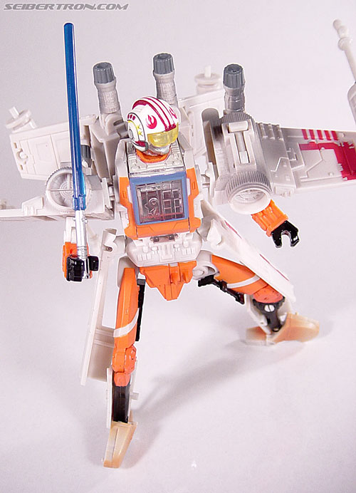 Star Wars Transformers Luke Skywalker (X-Wing Fighter) (Image #84 of 101)
