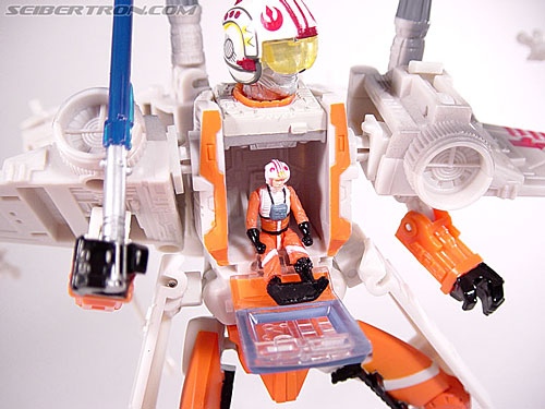 Star Wars Transformers Luke Skywalker (X-Wing Fighter) (Image #85 of 101)