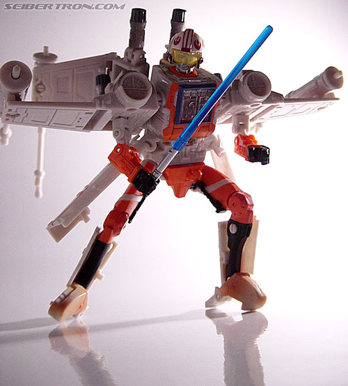 Star Wars Transformers Luke Skywalker (X-Wing Fighter) (Image #88 of 101)