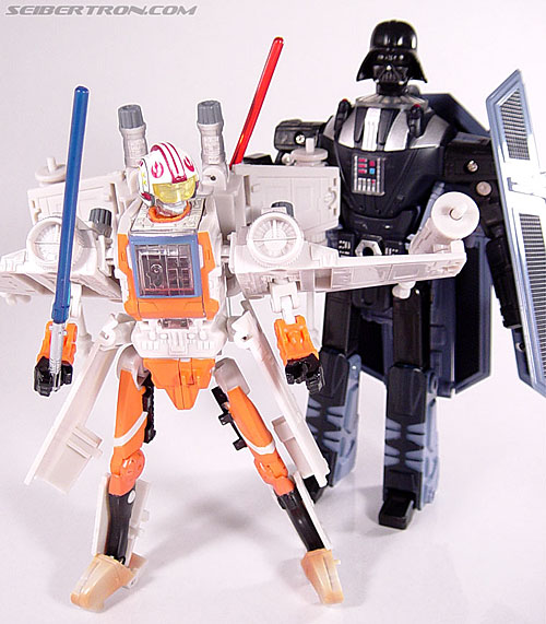 Star Wars Transformers Luke Skywalker (X-Wing Fighter) (Image #95 of 101)