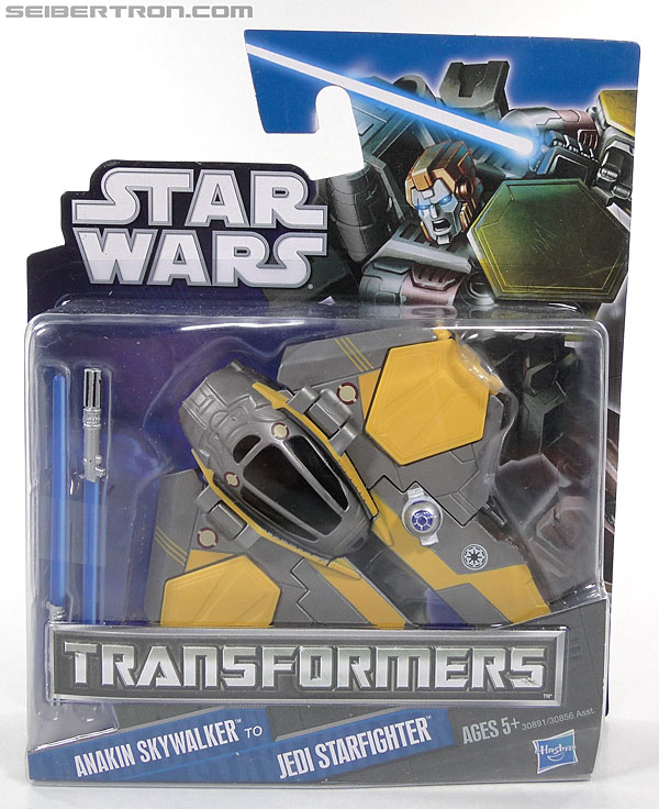 Star Wars Transformers Anakin Skywalker (Jedi Starfighter) (Image #1 of 95)