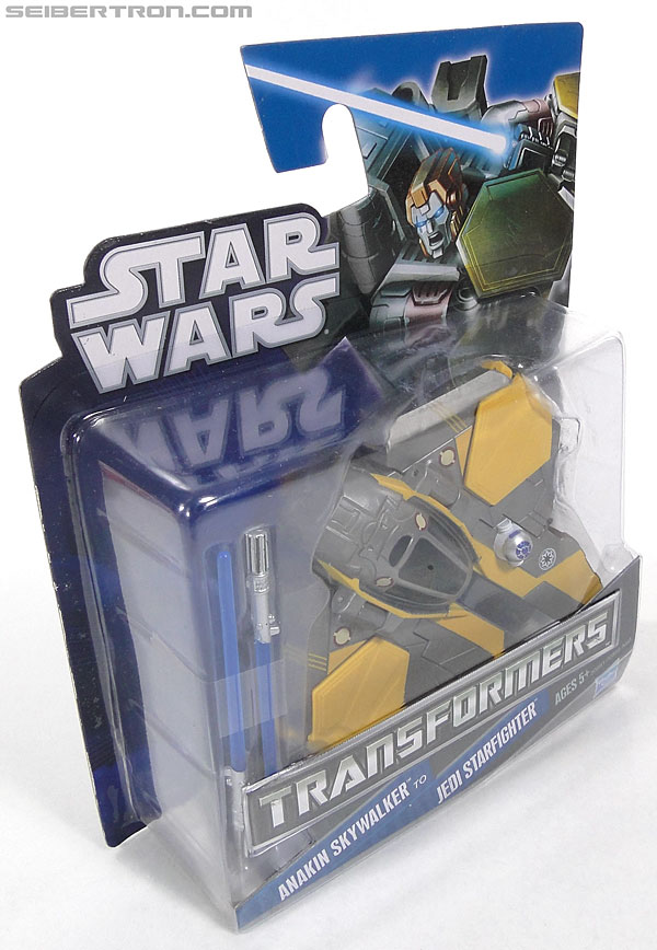 Star Wars Transformers Anakin Skywalker (Jedi Starfighter) (Image #4 of 95)