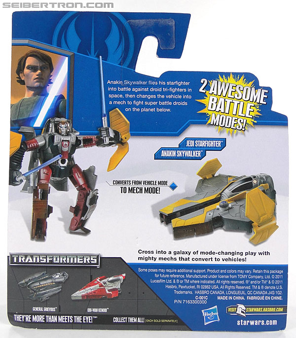 Star Wars Transformers Anakin Skywalker (Jedi Starfighter) (Image #6 of 95)