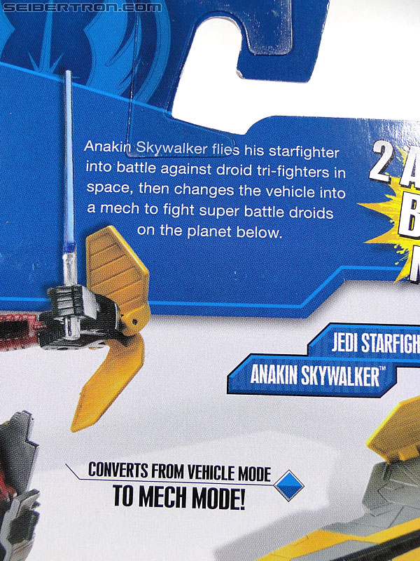 Star Wars Transformers Anakin Skywalker (Jedi Starfighter) (Image #7 of 95)