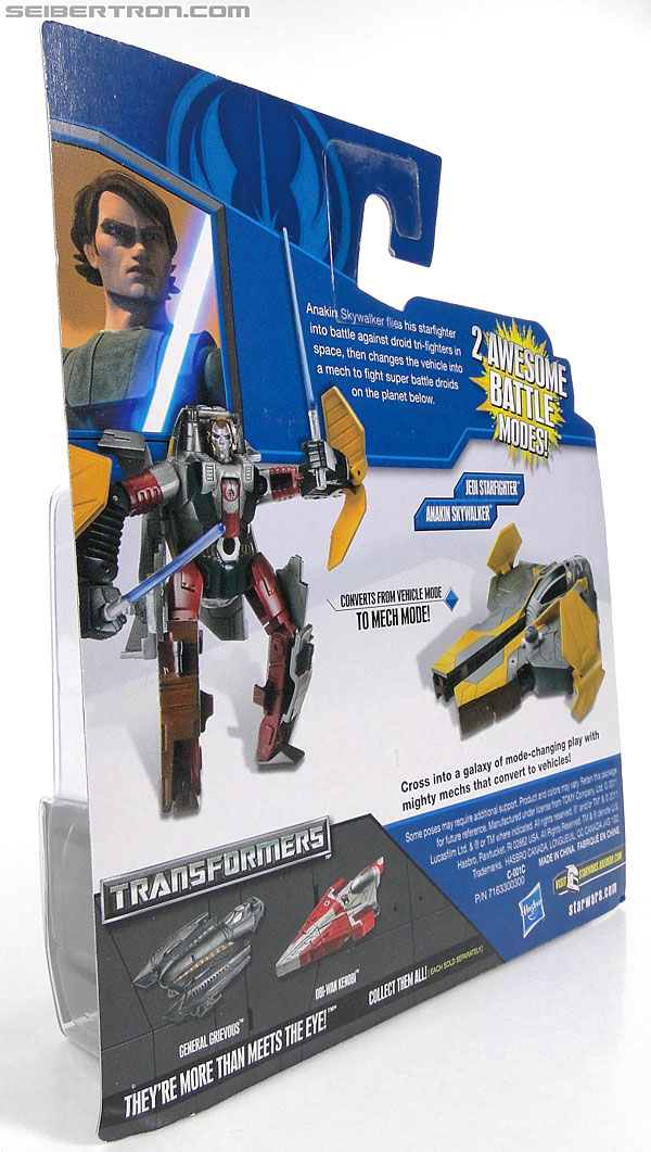 Star Wars Transformers Anakin Skywalker (Jedi Starfighter) (Image #8 of 95)