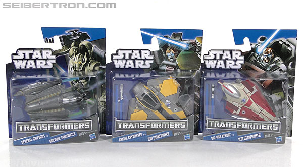 Star Wars Transformers Anakin Skywalker (Jedi Starfighter) (Image #13 of 95)