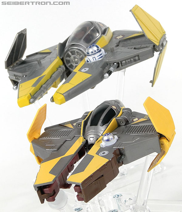 Star Wars Transformers Anakin Skywalker (Jedi Starfighter) (Image #40 of 95)