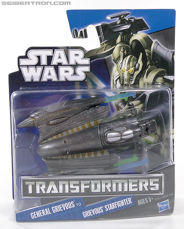 Star Wars Transformers General Grievous (Grievous Starfighter) (Image #1 of 80)