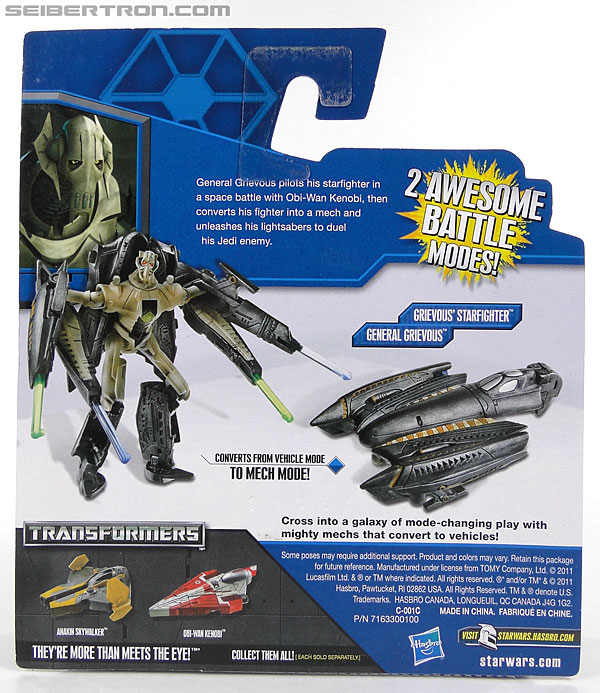 Star Wars Transformers General Grievous (Grievous Starfighter) (Image #6 of 80)