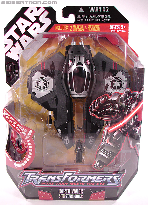 Star Wars Transformers Darth Vader (Sith Starfighter) (Image #1 of 138)