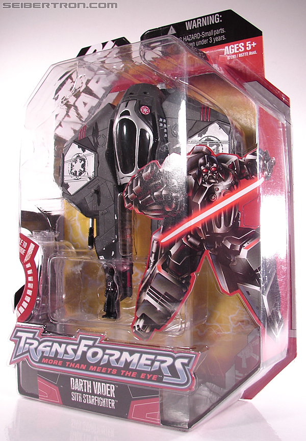 Star Wars Transformers Darth Vader (Sith Starfighter) (Image #2 of 138)