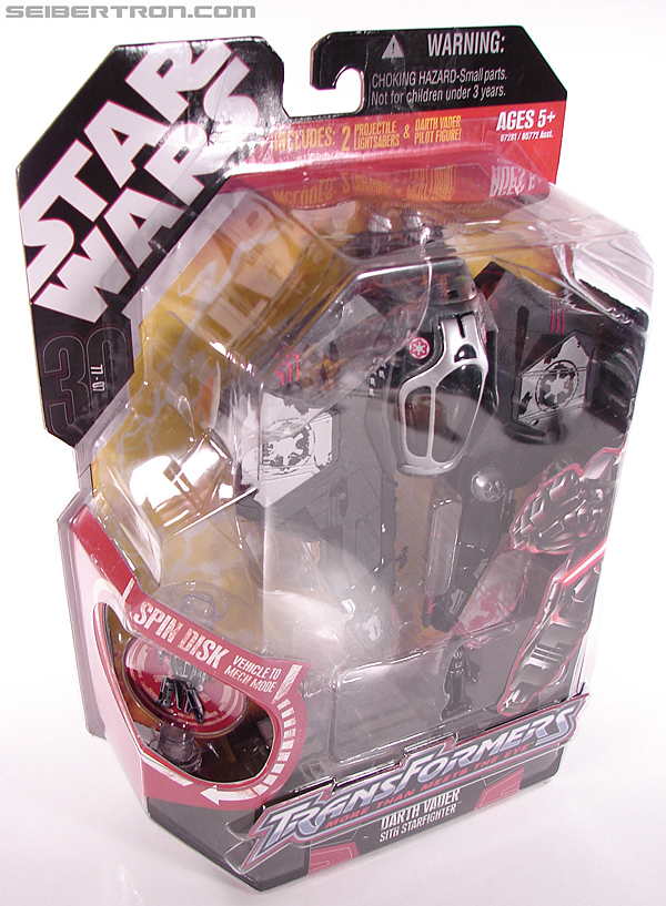 Star Wars Transformers Darth Vader (Sith Starfighter) (Image #7 of 138)