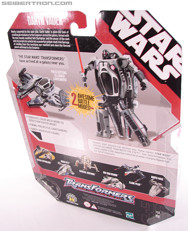 Star Wars Transformers Darth Vader (Sith Starfighter) (Image #10 of 138)