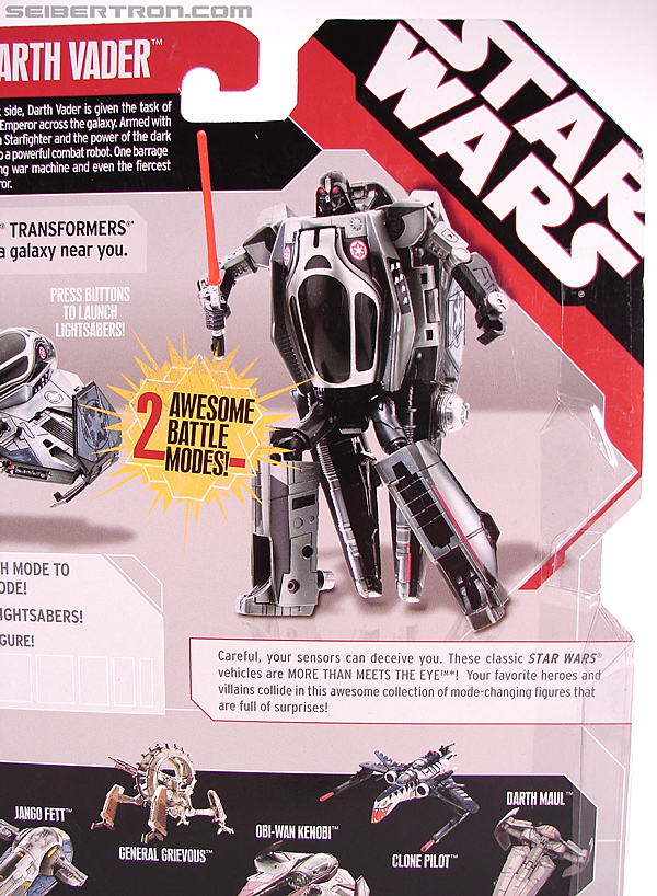 Star Wars Transformers Darth Vader (Sith Starfighter) (Image #11 of 138)