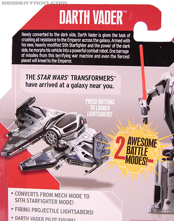 Star Wars Transformers Darth Vader (Sith Starfighter) (Image #12 of 138)