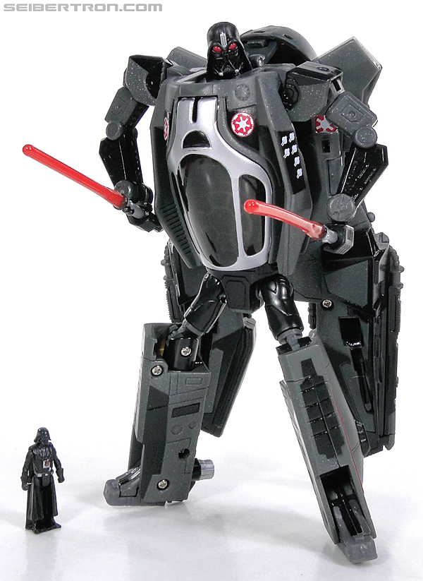 Star Wars Transformers Darth Vader (Sith Starfighter) (Image #137 of 138)