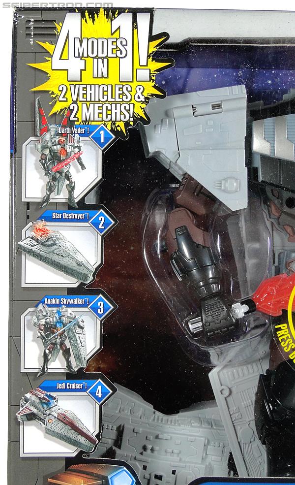 Star Wars Transformers Darth Vader (Star Destroyer) / Anakin Skywalker (Jedi Cruiser) (Darth Vader Star Destroyer Anakin Skywalker Jedi Cruiser) (Image #7 of 200)
