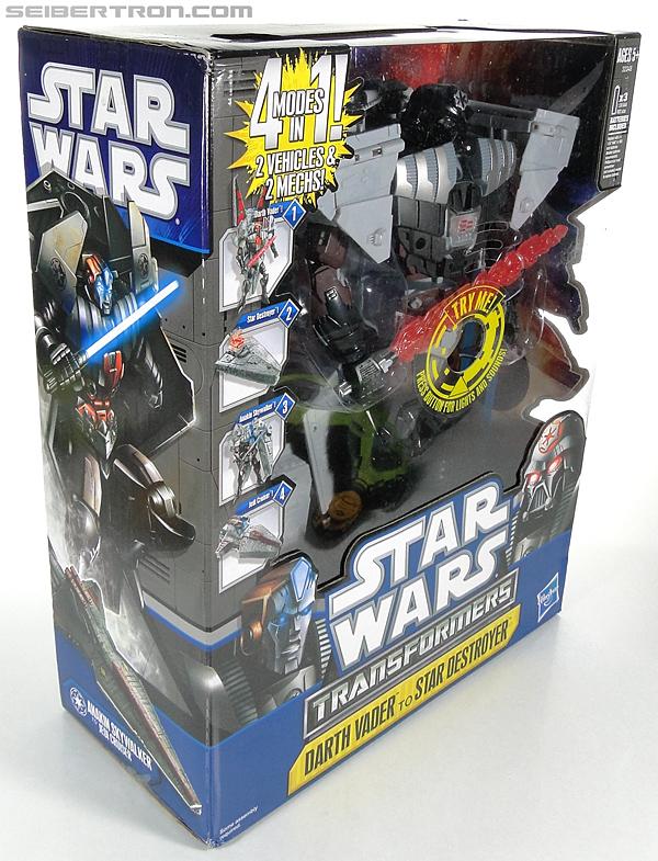 Star Wars Transformers Darth Vader (Star Destroyer) / Anakin Skywalker (Jedi Cruiser) (Darth Vader Star Destroyer Anakin Skywalker Jedi Cruiser) (Image #8 of 200)