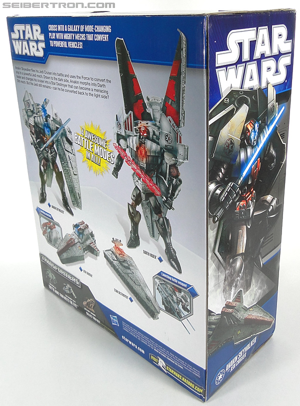 Star Wars Transformers Darth Vader (Star Destroyer) / Anakin Skywalker (Jedi Cruiser) (Darth Vader Star Destroyer Anakin Skywalker Jedi Cruiser) (Image #14 of 200)