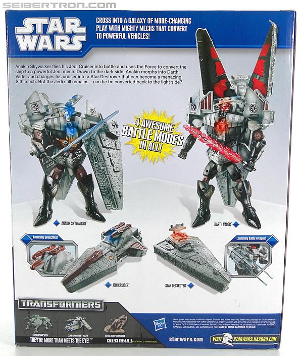 Star Wars Transformers Darth Vader (Star Destroyer) / Anakin Skywalker (Jedi Cruiser) (Darth Vader Star Destroyer Anakin Skywalker Jedi Cruiser) (Image #15 of 200)