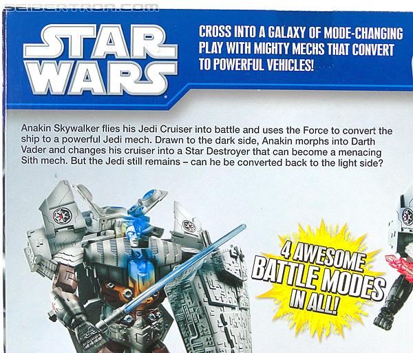 Star Wars Transformers Darth Vader (Star Destroyer) / Anakin Skywalker (Jedi Cruiser) (Darth Vader Star Destroyer Anakin Skywalker Jedi Cruiser) (Image #18 of 200)