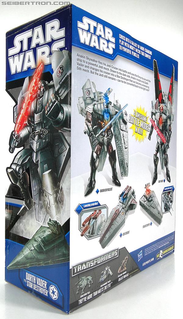 Star Wars Transformers Darth Vader (Star Destroyer) / Anakin Skywalker (Jedi Cruiser) (Darth Vader Star Destroyer Anakin Skywalker Jedi Cruiser) (Image #21 of 200)