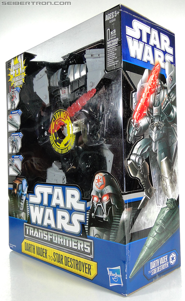 Star Wars Transformers Darth Vader (Star Destroyer) / Anakin Skywalker (Jedi Cruiser) (Darth Vader Star Destroyer Anakin Skywalker Jedi Cruiser) (Image #29 of 200)