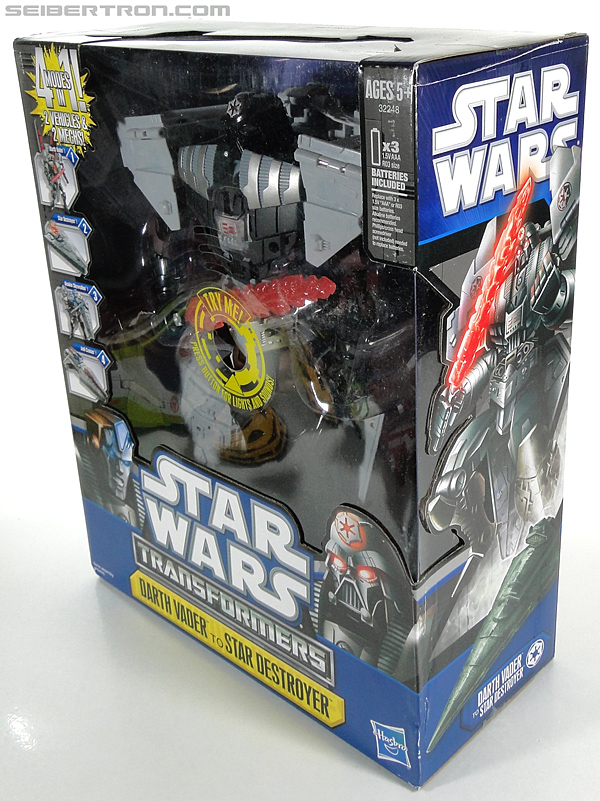 Star Wars Transformers Darth Vader (Star Destroyer) / Anakin Skywalker (Jedi Cruiser) (Darth Vader Star Destroyer Anakin Skywalker Jedi Cruiser) (Image #30 of 200)