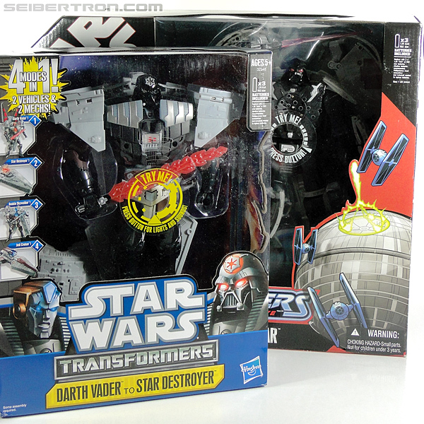 Star Wars Transformers Darth Vader (Star Destroyer) / Anakin Skywalker (Jedi Cruiser) (Darth Vader Star Destroyer Anakin Skywalker Jedi Cruiser) (Image #33 of 200)