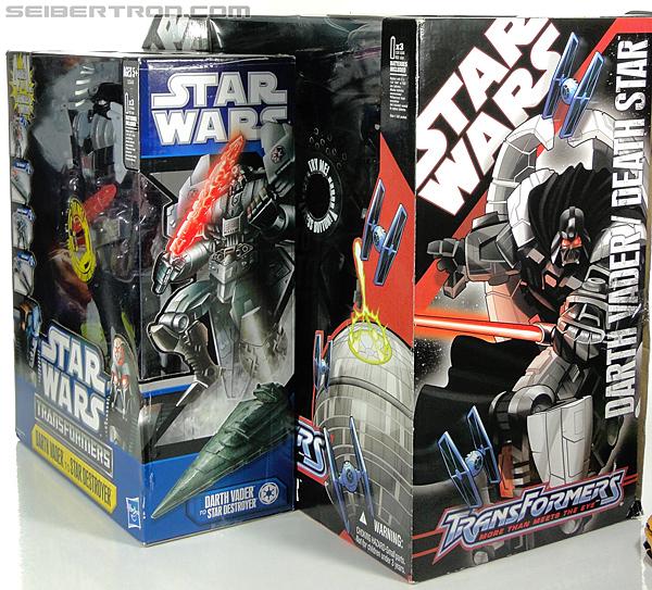 Star Wars Transformers Darth Vader (Star Destroyer) / Anakin Skywalker (Jedi Cruiser) (Darth Vader Star Destroyer Anakin Skywalker Jedi Cruiser) (Image #35 of 200)