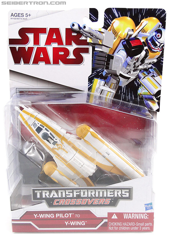 Star Wars Transformers Y-Wing Pilot (Y-Wing) (Image #1 of 84)