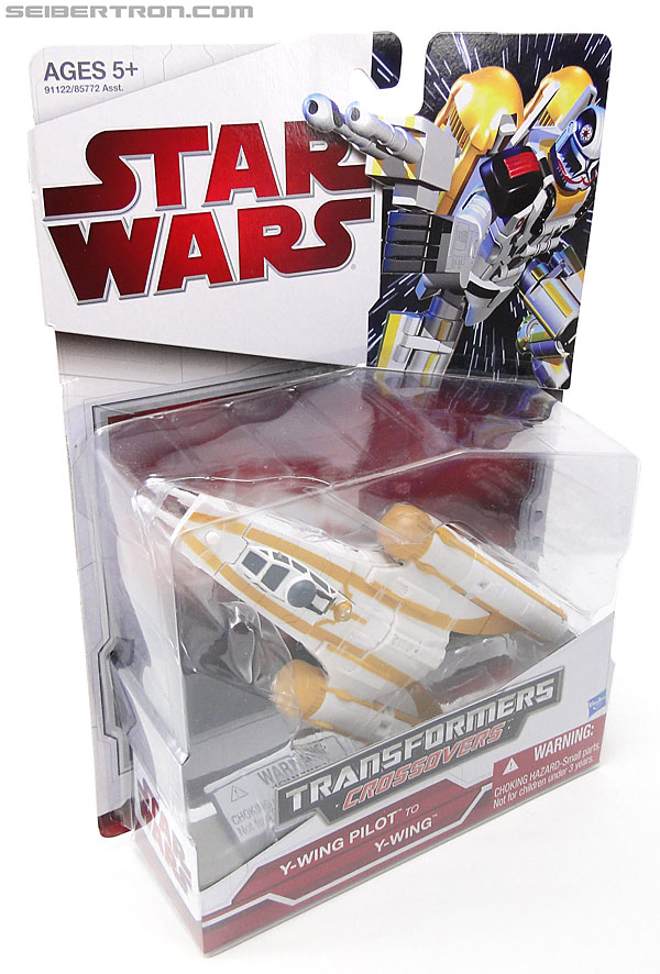 Star Wars Transformers Y-Wing Pilot (Y-Wing) (Image #4 of 84)