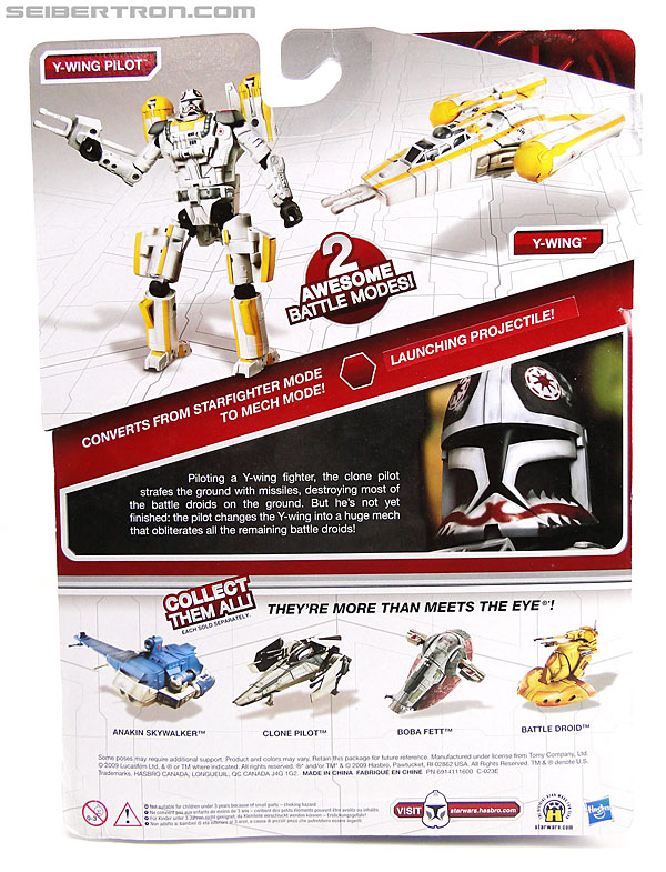 Star Wars Transformers Y-Wing Pilot (Y-Wing) (Image #6 of 84)