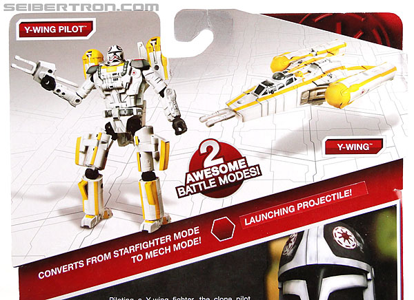 Star Wars Transformers Y-Wing Pilot (Y-Wing) (Image #7 of 84)