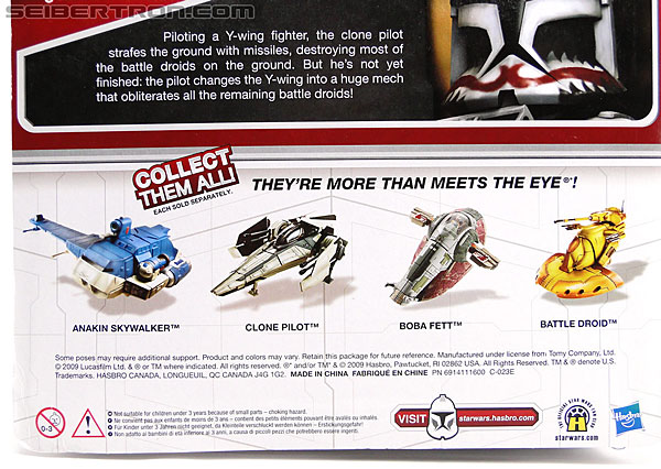 Star Wars Transformers Y-Wing Pilot (Y-Wing) (Image #9 of 84)